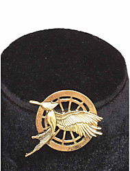 The Hunger Games Catching Fire Mockingjay Gold Brooch
