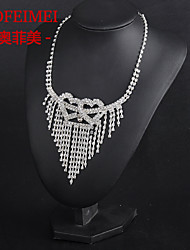 Bridal Jewelry Set stone mandrel Korean Fashion necklace bride wedding dress accessories