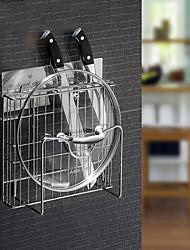 cuisine organisation rack, autocollant réutilisable non-trace