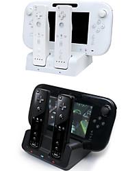 3 en 1 station d'accueil chargeur tenir chargeur pour Nintendo Wii manette de u&télécommandes