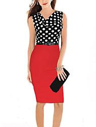 vestito sleevelss donne morefeel