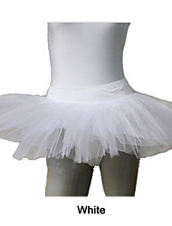 Nylon/Lycra 4 Layers Half Tutus for Dance  More Colors for Ladies and Girls