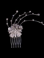 Fashion Diamond Alloy Wedding Bridal Headpiece/ Hair Combs