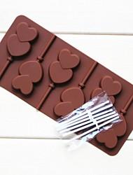 fashoin chocoladevorm snoep bruiloft decoratie bakvormen koken fondant taart tools (willekeurige kleur)