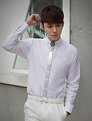 White Cotton Tailorde Fit Shirt