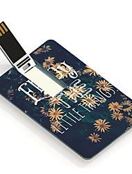 4gb bloem ontwerp kaart usb flash drive