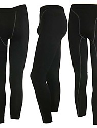 Male High-elastic  Fitness Tight Fast Drying Pants