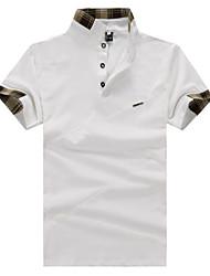Informell Ständer - Kurzarm - MEN - T-Shirts ( Organische Baumwolle )
