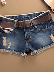 Strand/Informell/Party FRAUEN - Shorts ( Baumwolle/Denim )