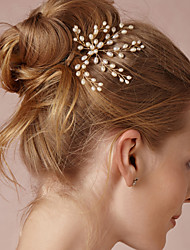 Women Upscale Pearl Hairpins/Hair Combs/Barrette With Wedding/Party Headpiece