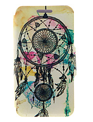 For HTC Case with Stand / with Windows / Flip Case Full Body Case Dream Catcher Hard PU Leather HTC