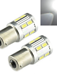 Luces Decorativas Decorativa ding yao 1156 4.0 W 12 SMD 5730 330 LM Blanco Fresco DC 12 V 1 pieza