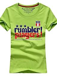 Ms. Couples summer short-sleeved t-shirts standard letter # 003