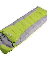 Saco de dormir (Verde/Azul/Laranja) - Poliéster - Á Prova-de-Vento/Mantenha Quente/Compressão/Retangular/Tempo Frio