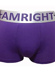 cueca boxer roupa interior de algodão do conforto dos homens amright