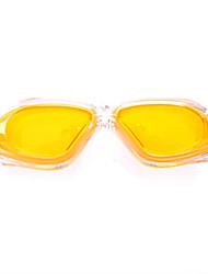 Sanqi Sale Price Anti-fog Waterproof Yellow Swim Goggles