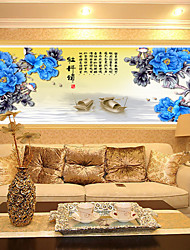 DIY Painting Blossoming Peony Flower Diamond Embroidery Stitch New Living Room Decorative Painting