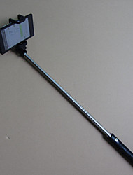 2015 nuevo estilo mini mango roscado plegable integrado palo selfie bluetooth inalámbrico para la cámara del teléfono móvil