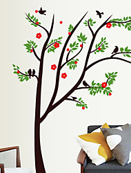 Vibrant Natural Trees PVC Wall Stickers Wall Art Decals