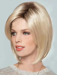 European And American New Light Gold BOBO Head Wig