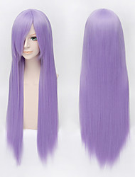 "Vocaloid/Patchouli Knowledge/TouHou Project 100cm 39""Long Purple Straight Cos Wig"
