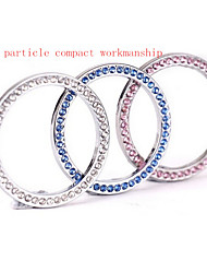 VIP Colored Diamond Ring A Key to Start the Car Keys Universal Trim Ring