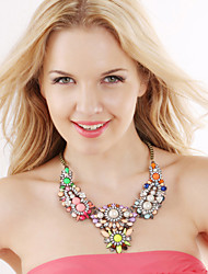 Cute/Party/Work/Casual Alloy/Gemstone & Crystal/Cubic Zirconia Statement