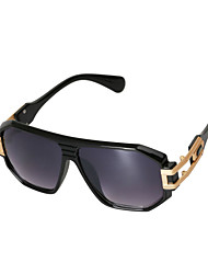 Sunglasses Women's Elegant / Fashion Oversized Black / Leopard Sunglasses Full-Rim