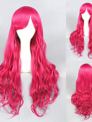 32inch Rose Red Curl Beautiful Lolita wig