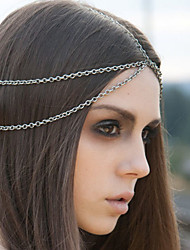 Bohemian Double Layer Head Chain Jewelry Forehead Dance Headband