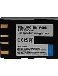 1000mAh Camera Battery Pack for JVC BN-V408