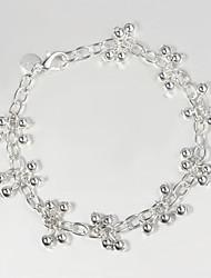 Itália 925 prata pulseiras de venda da promoção pulseira de design de moda talão amizade