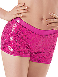 Dance Dancewear Adults' Children's Sequin Dance Shorts