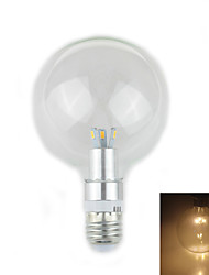 Zweihnder E27 12W 1000LM 3000-3500K 6x5730 SMD Warm Light Glass Bulb Lamp (AC 220-240V,1Pcs)
