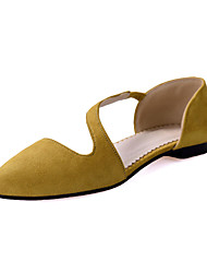 Women's Shoes Leather Flat Heel Pointed Toe Flats Shoes Dress More Colors available