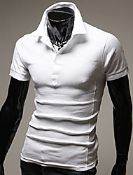 OUER Men's Casual Square Short Sleeve T-Shirts (Organic Cotton)