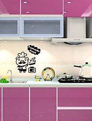Wall Stickers Wall Decals,  Pig Kitchen Sticker PVC Wall Stickers