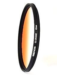 MENGS® 82mm Graduated ORANGE Filter For Canon Nikon Sony Fuji Pentax Olympus Etc Digital Camera