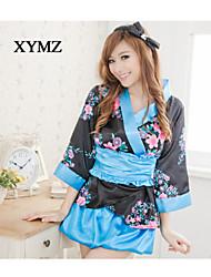 Women's Sexy Cherry Print Kimono