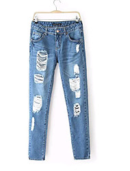 Women's New Arrived Casual Jeans Pants