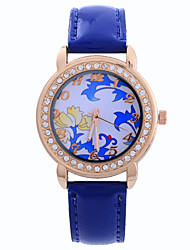Female Models Candy Colored Diamond Fashion Simple Circular Pattern China Movement Watch Belt(Assorted Colors) Cool Watches Unique Watches
