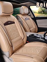 pelle 6 pc ha regolato tutte le stagioni seggiolino auto generale coprisedili protezione misura universale accessori auto