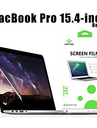 hd lention protector de pantalla transparente fina flim protector protector para MacBook Pro con Retina Display de 15 pulgadas