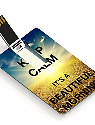 4gb прекрасное утро дизайн карты USB флэш-накопитель