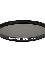 MENGS® 58mm Infrared Filter IR 720nm With Aluminum Frame For DSLR Camera