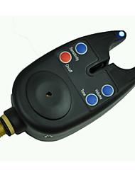 Carp Fishing Bite Alarm Tackle LED Audio Visual Alert With 2.5mm Jack