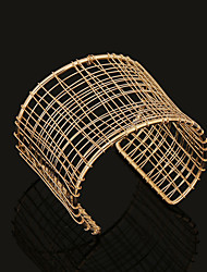 Fashion Metal Cuff Bracelet(Gold,Silver)