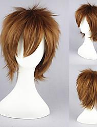 12inch naruto-sabaku pas gaara l'anime brune perruque cosplay