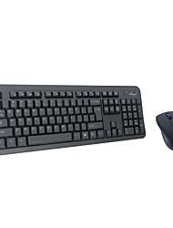 Wireless Keyboard and Mouse Combo 2.4G Plug and Play Long Lifetime Office Save Energy SR