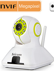 Sricam® PTZ IP Camera 720P Day Night IR-cut Day Night Motion Detection WiFI P2P Wireless